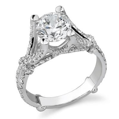 3.10 Ct. TW Round Diamond Fashion Ring