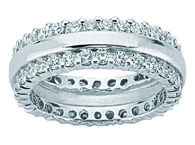 3.50 Ct. TW Round Diamond Eternity Wedding Band