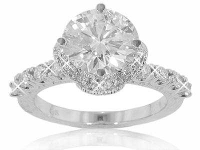 2.30 CT. ROUND DIAMOND ENGAGEMENT RING