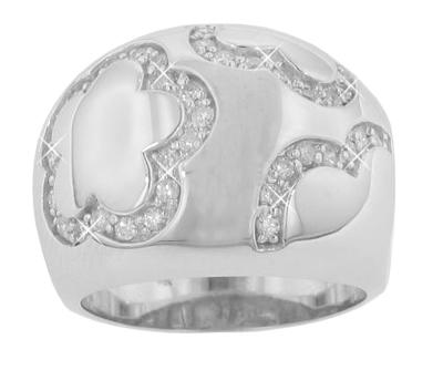 0.80 Ct. TW Round Diamond Anniversary Ring