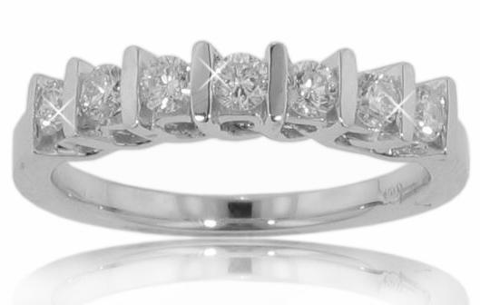 0.85 Ct. TW Round Diamond Wedding Band