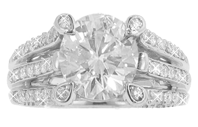 2.49 Ct. TW Round Diamond Engagement Ring