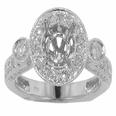 1.75 ct. TW Round Diamond Engagement Semi Mount
