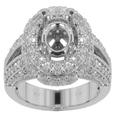 2.50 CT ROUND CUT DIAMOND ENGAGEMENT SEMI MOUNT