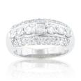 1.70 ct TW Ladies round cut diamond anniversary band