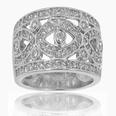 3.00 ct TTW ladies Round Cut Diamond Anniversary Ring