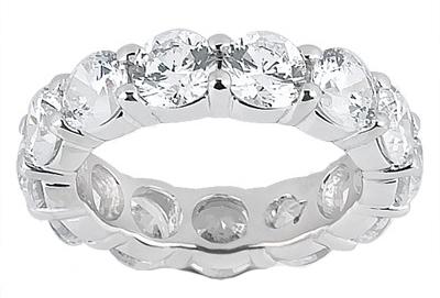 3.00 ct. TW Round Diamond Eternity Wedding Band